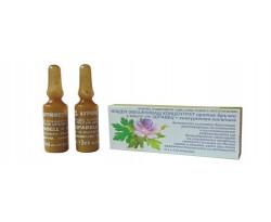 Ампули Нощен овлажняващ концентрат против бръчки с масло от здравец и хиалуронова киселина 2*3 мл