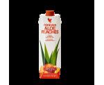 Алое вера гел за пиене с праскови с 84.5% чист гел от вътрешността на листата 1 L